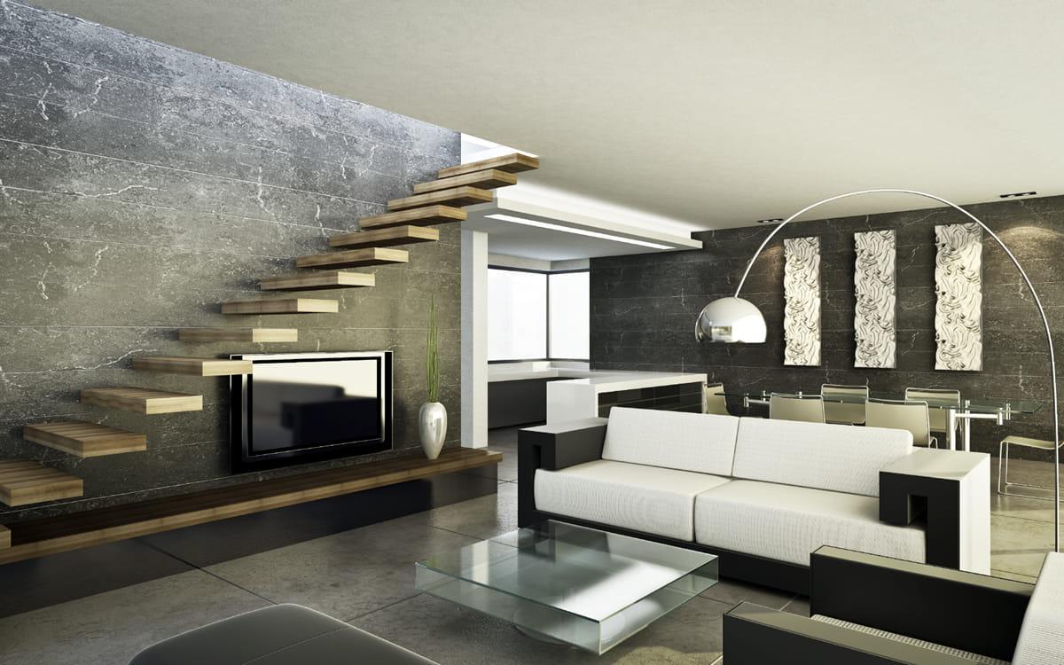 Panel ścienny Gipsowy 3d Loft Design Dekor 26 Sol Techdesignpl