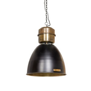 Lampa Voltera 32 cm - Shine Black Brass