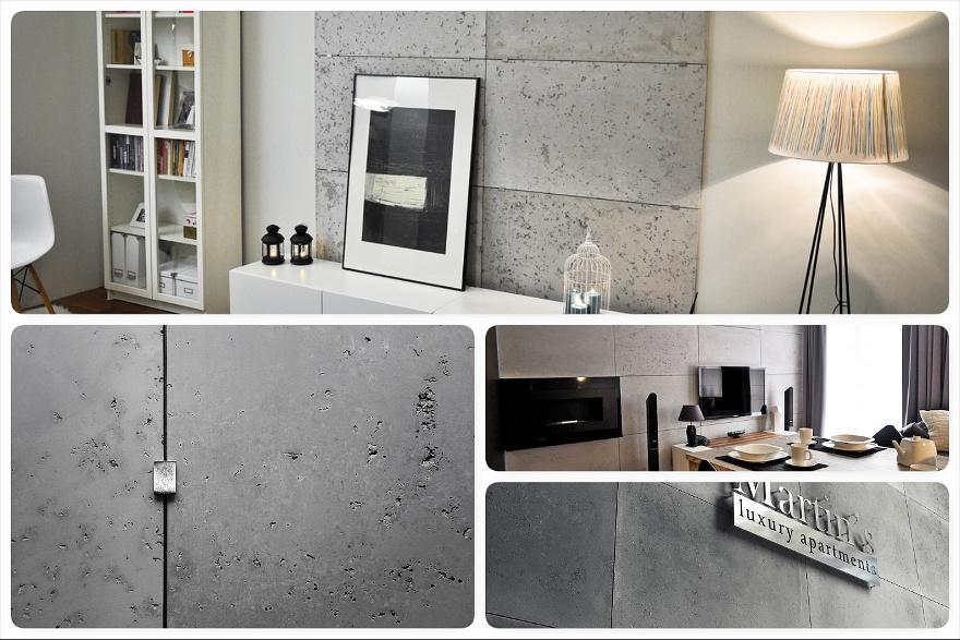 Imitacja Betonu Panele Gipsowe Concrete Sol Techdesignpl
