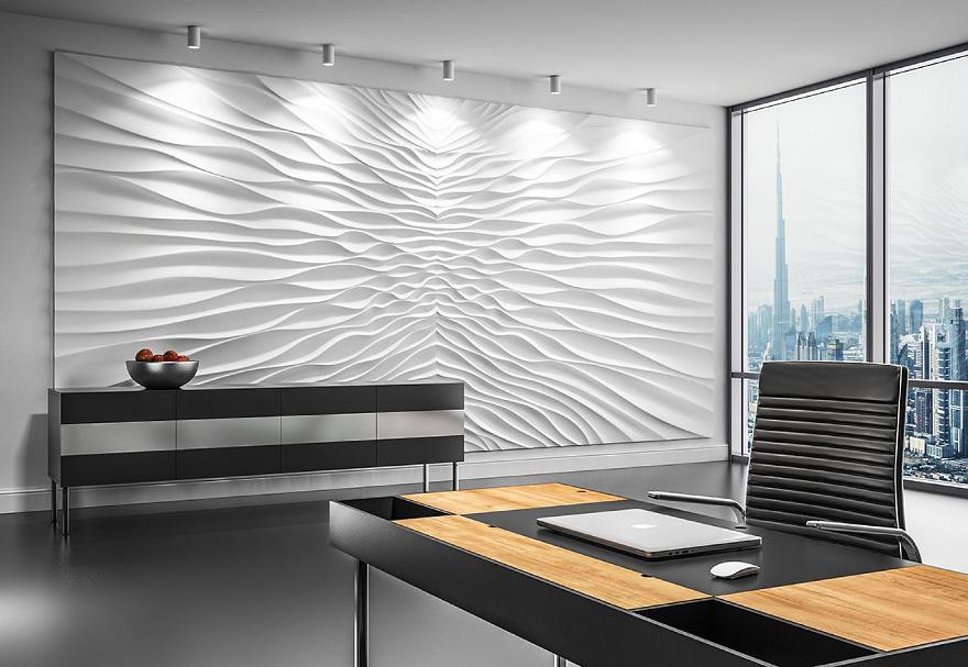 Panele ścienne Dekoracyjne 3d Mural Sol Techdesignpl